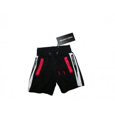 sportieve zwarte korte broek