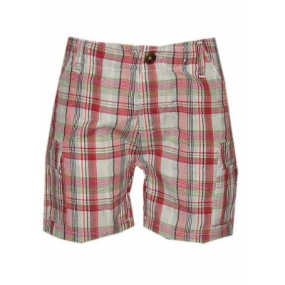 rood wit ruitjes korte broek
