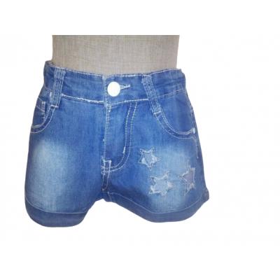 spijker korte broek met sterren