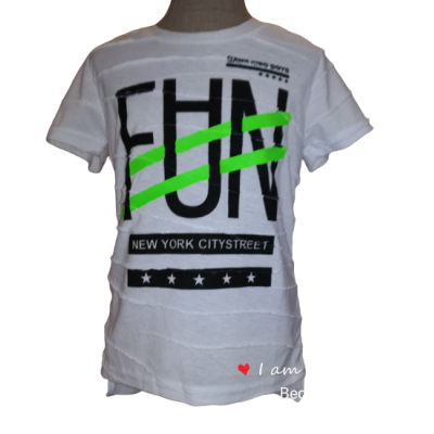 Stoer wit FUN shirt
