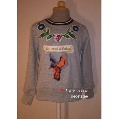 Prachtige sweater met Kolibrie