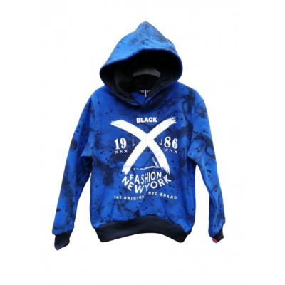 blauwe stoere sweater