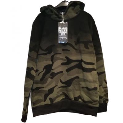 leger groen army print sweater