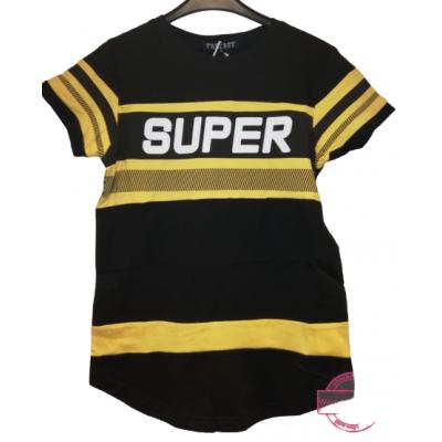 geel zwart stoer shirt