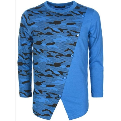 STOER blauw ARMY LONGSLEEVE