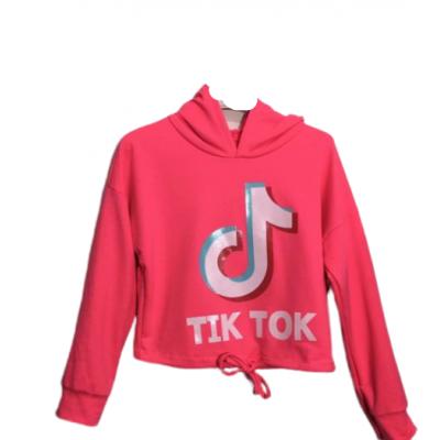 Knal roze Tik Tok top, kort model