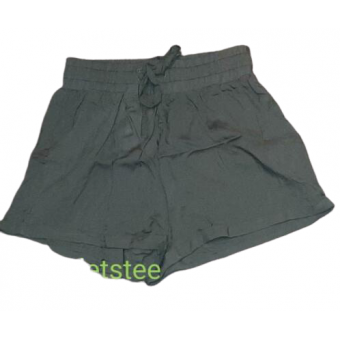 leger groene dunne korte broek