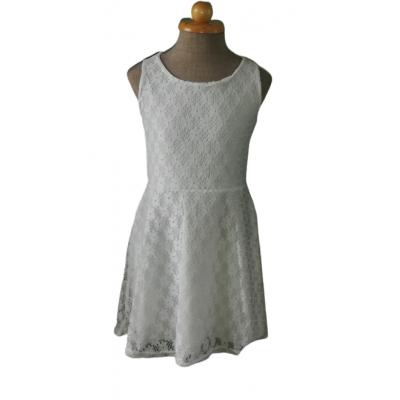 Witte kanten zomer jurk