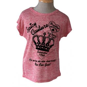 roze kroontjes shirt