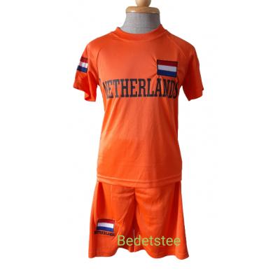 Oranje zomer set Nederland