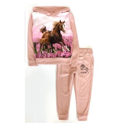 paarden joggingpak roze