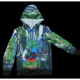 Minecraft longsleeve hoodie