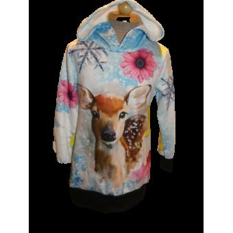 Bambi long sweater/ tuniek