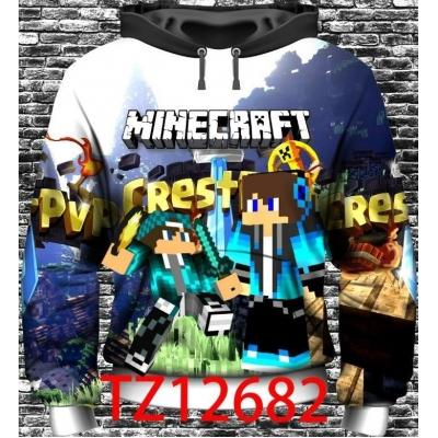 Minecraft hoodie sweater