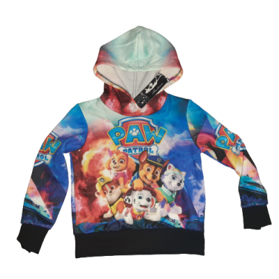Paw patrol all over print hoodie
