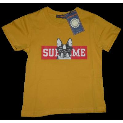 Mosterd geel SUPREME shirt