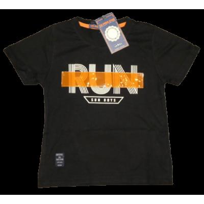 Zwart apart RUN shirt