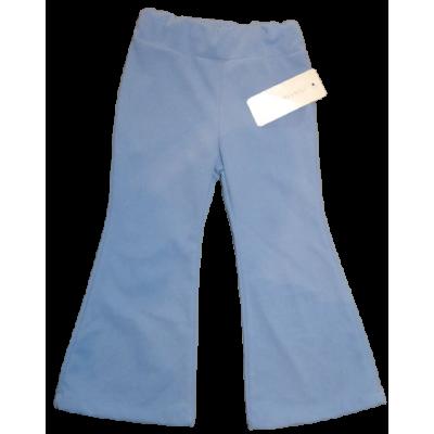 Lavendel blauwe flared broek