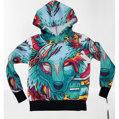 Coole hoodie/ sweater wolf