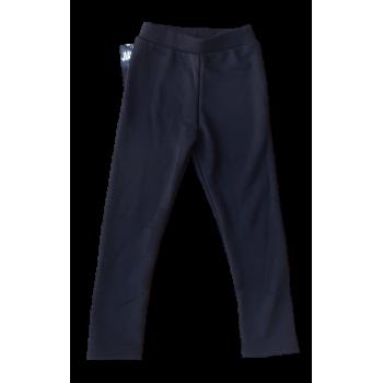 Zwarte dikke warme legging