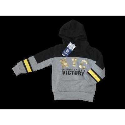 zwart grijs met goud bedrukking sweater hoodie